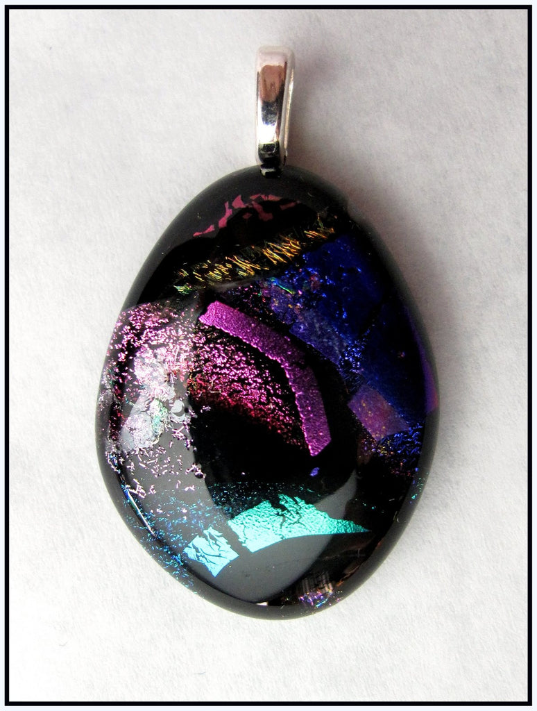 Imaginative Creations Bailed Pendant #07a Memorable Glass Jewelry