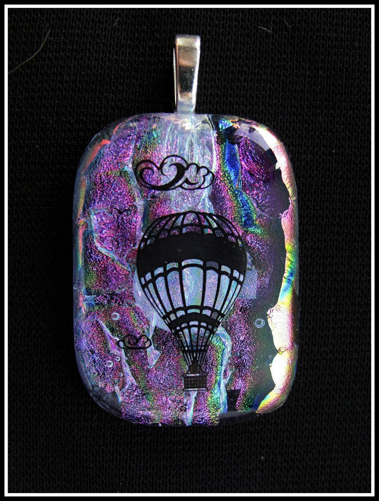 Imaginative Creations Bailed Pendant #06a Memorable Glass Jewelry