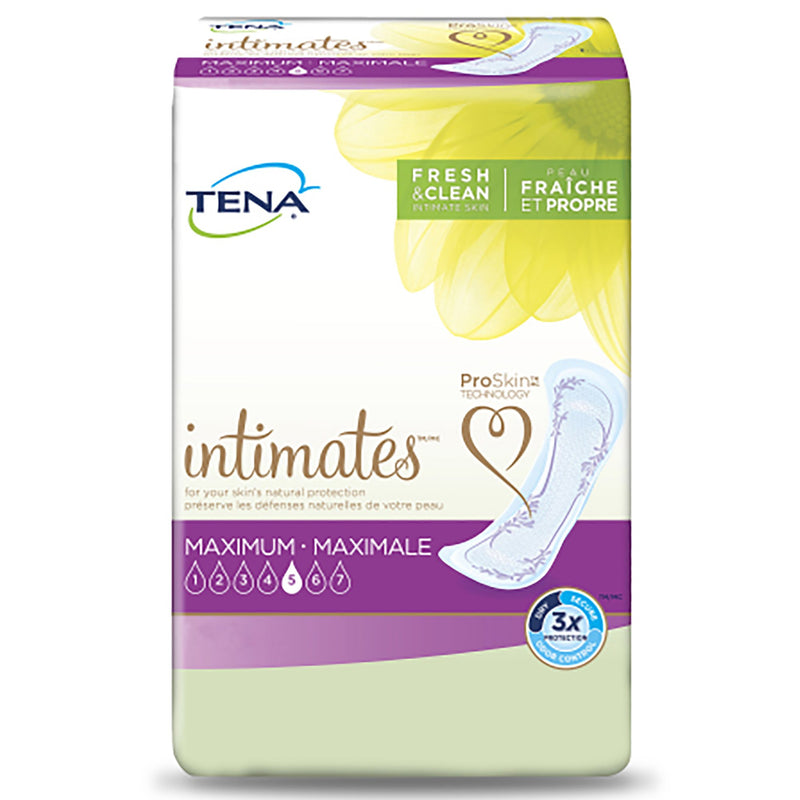 Tena Intimates Maximum Bladder Control Pad, 13-Inch Length