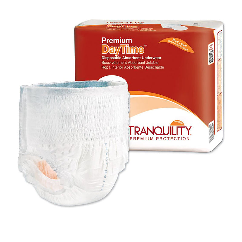 Tranquility Premium DayTime Heavy Protection Absorbent Underwear, Extra Extra Large