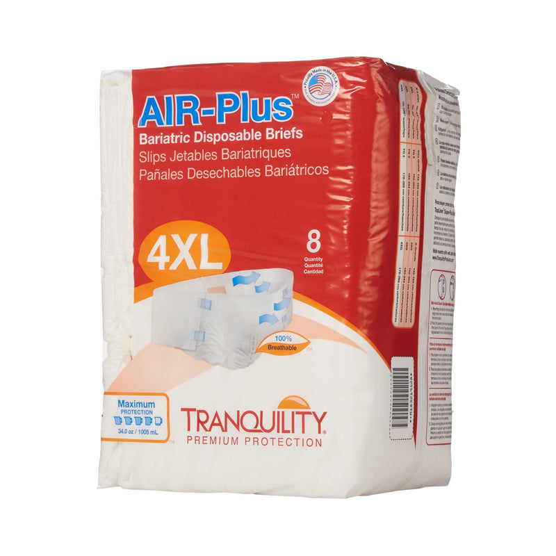 Tranquility AIR-Plus Maximum Protection Bariatric Incontinence Brief