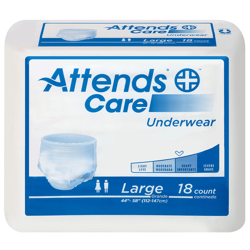 Attends Care Moderate Absorbent Underwear, Regular