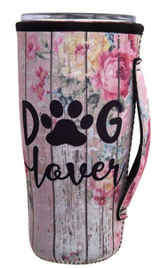 DOG LOVER Printed Cup Sleeve