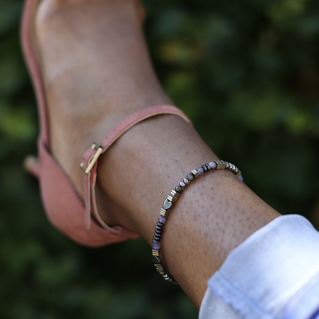 Anklet: Love Me Pyrite