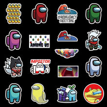 Load image into Gallery viewer, Among Us 50 PCS Assorted Stickers, among us stickers, among us sticker, among us stickers pack, among us stickers laptop car