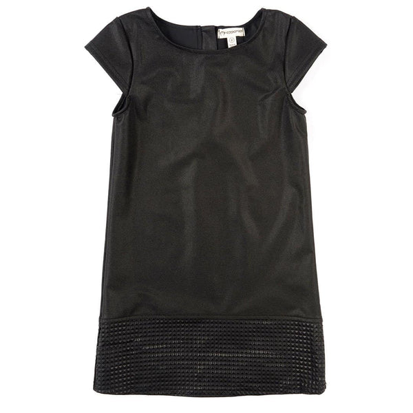 Zadie Dress | Shiny Black