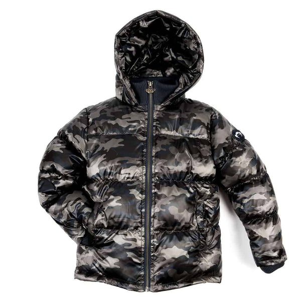 Base Camp Puffer | City Nights Camo