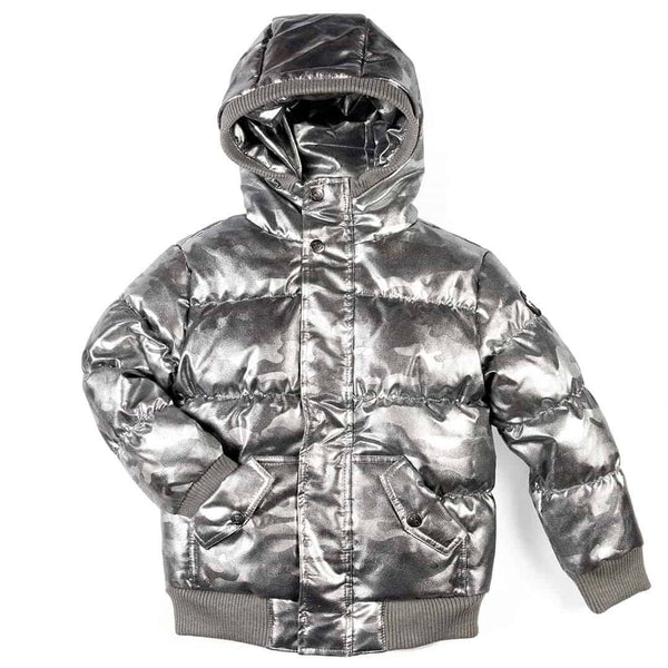 Puffy Coat | Gunmetal Camo