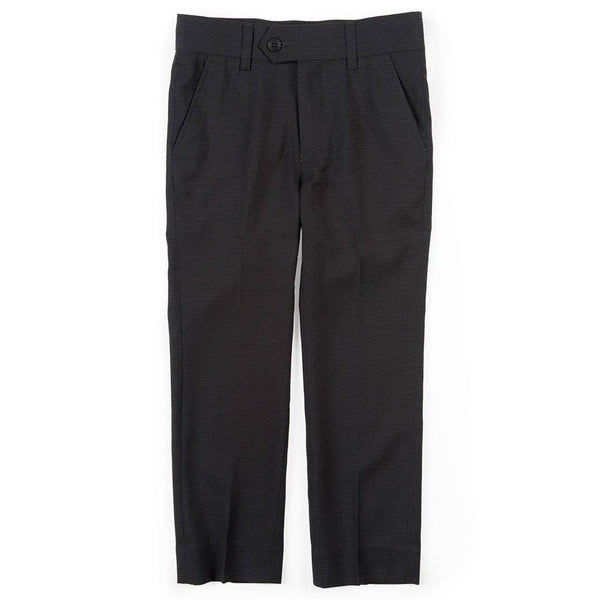 Suit Pants | Charcoal Houndstooth