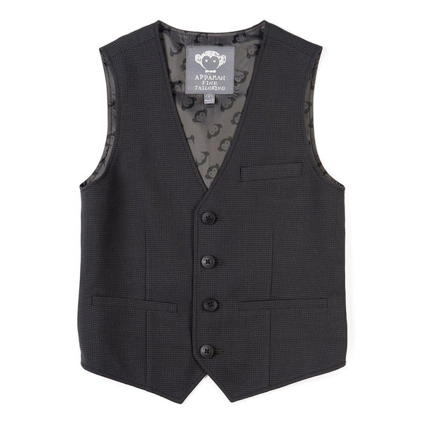 Tailored Vest | Charcoal Heather