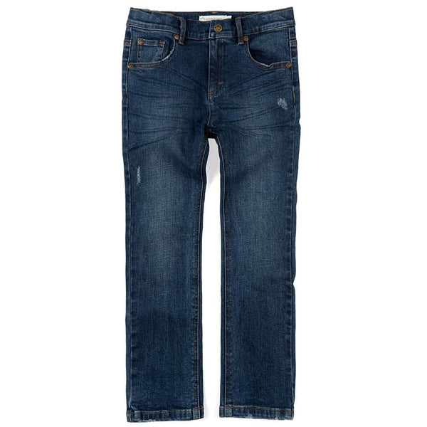 Slim Leg Denim | Medium Wash