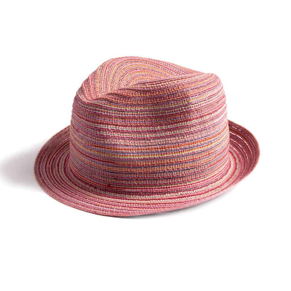 Penny Fedora | Sunrise Stripe