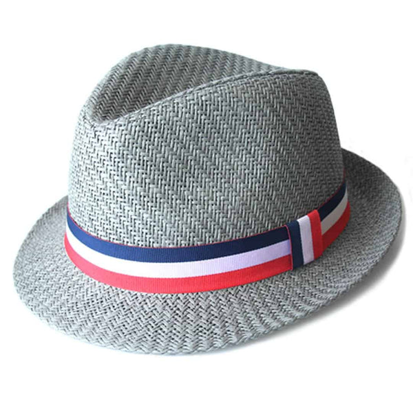 Houston Fedora | Grey
