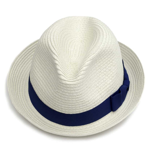 Day Party Fedora | White