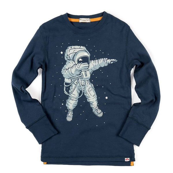 Space Dab Graphic Tee | Denim Navy