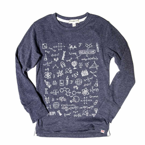 Science Wiz Graphic Tee | Navy Heather
