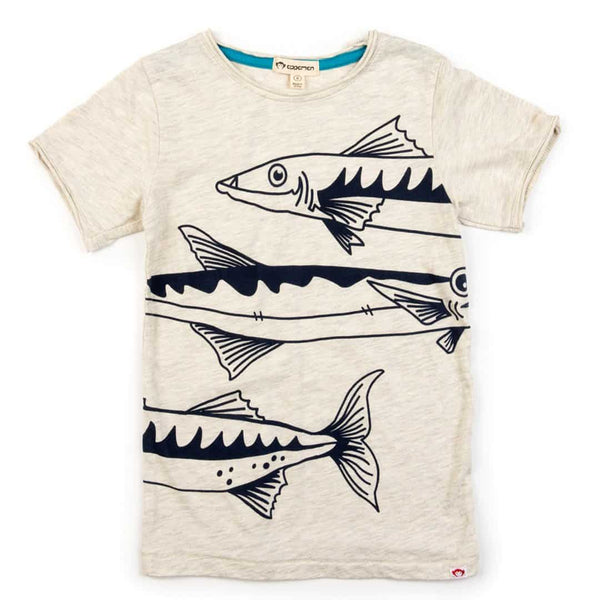 Barracuda Graphic Tee | Cloud Heather