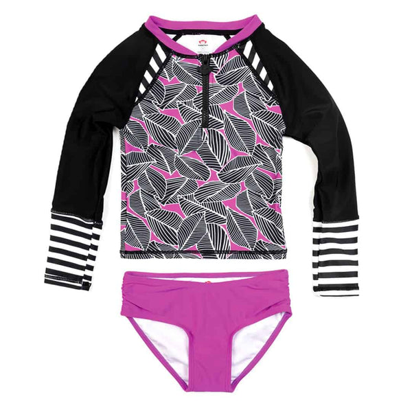 Long Sleeve Rash Guard Set | Anemone