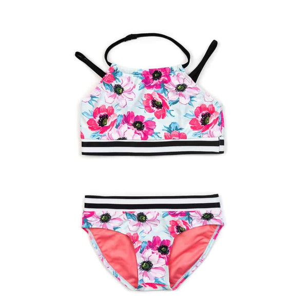 Malia Bikini Set | Coastal Poppies