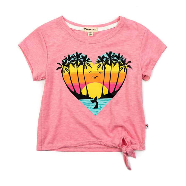Sunset Cove Phing Tee | Pink