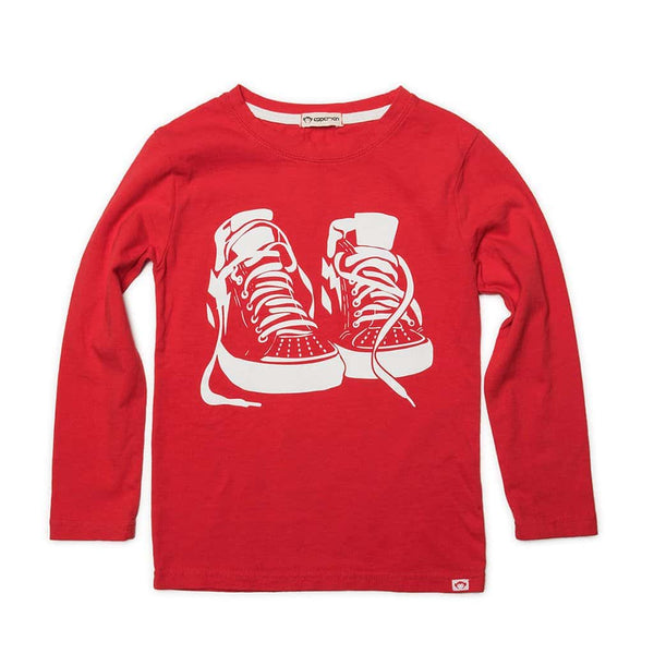 Sneaker Game Graphic Tee | Prize Red