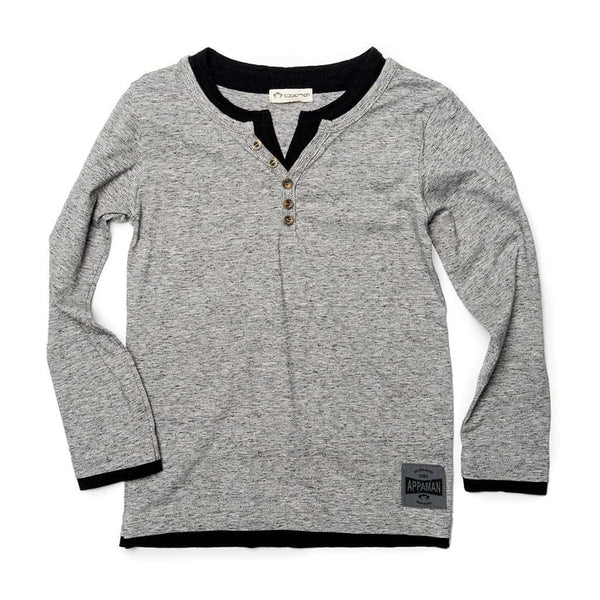 Camden Shirt | Speckled Grey Heather