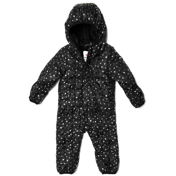 Lightweight Snowsuit | Silver Hearts