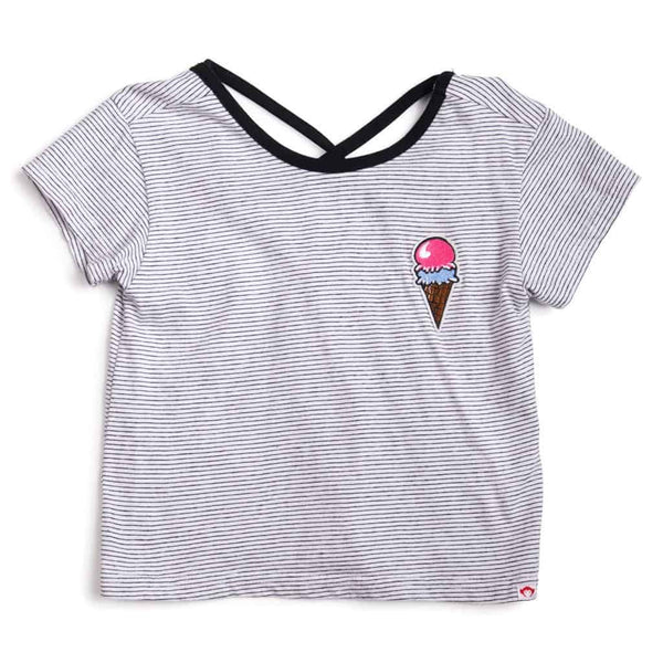 Casey Tee | Candy Stripe