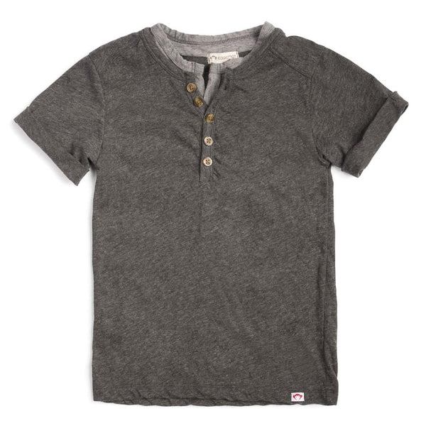 Hilltop Henley | Charcoal Heather