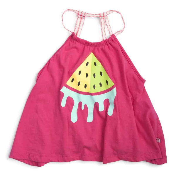 Sanibel Tank - Watermelon | Pink Flo