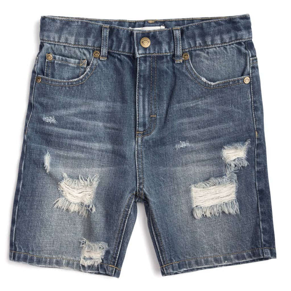Denim Shorts | Light Aged Wash