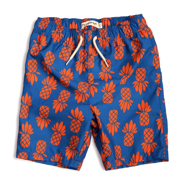 Mid Length Swim Trunks | City Pineapple