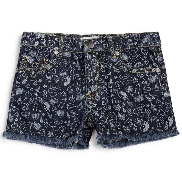 Rhodes Short | Medium Blue Wash