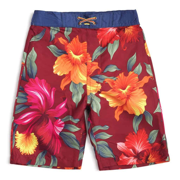 Swim Trunks | Tropical Hibiscus
