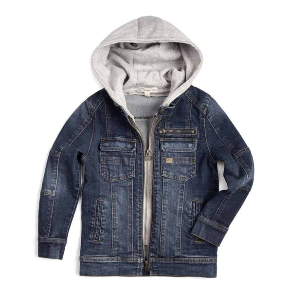 Dilinger Denim Jacket | Medium Wash