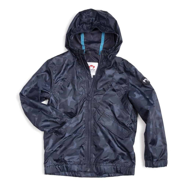 Expedition Windbreaker | Navy Camo