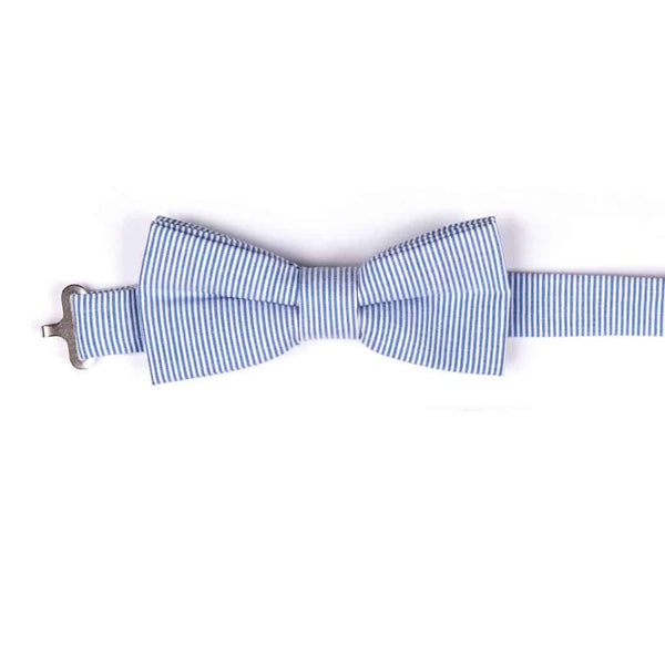 Bow Tie | Blue Bengal Stripe