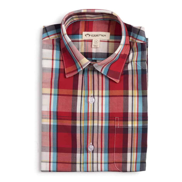 The Standard Shirt | Poppy Plaid