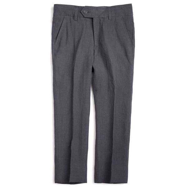 Linen Suit Pants | Carbon