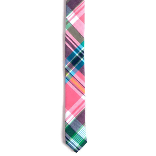 Tie | South Beach Plaid