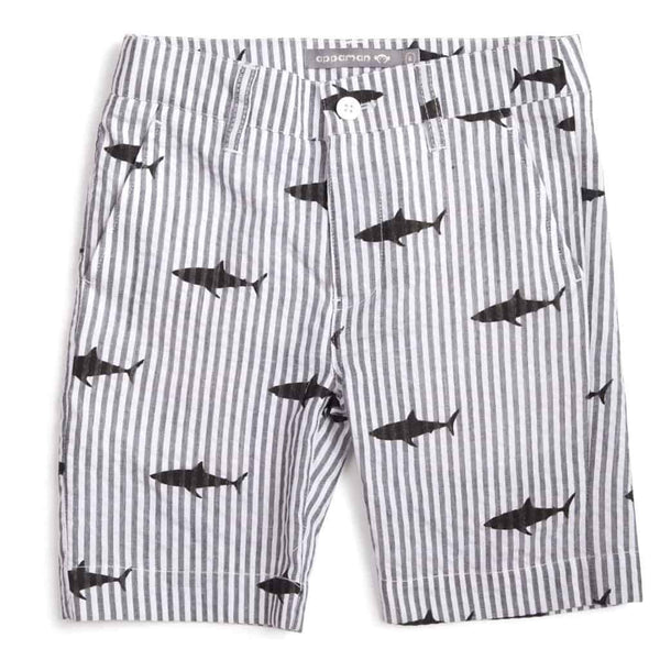 Trouser Shorts | Great White Stripes