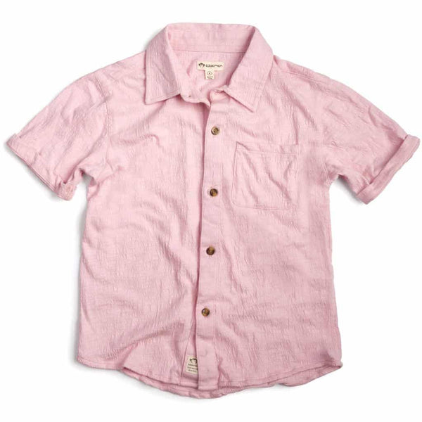 Beach Shirt | Chalk Pink