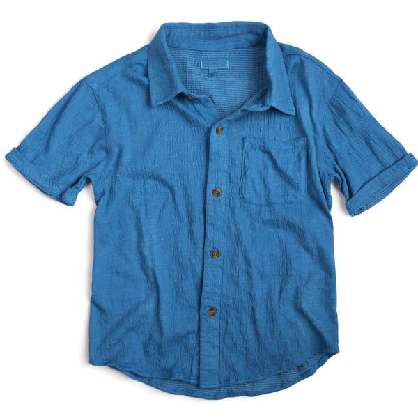 Beach Shirt | Dresden Blue