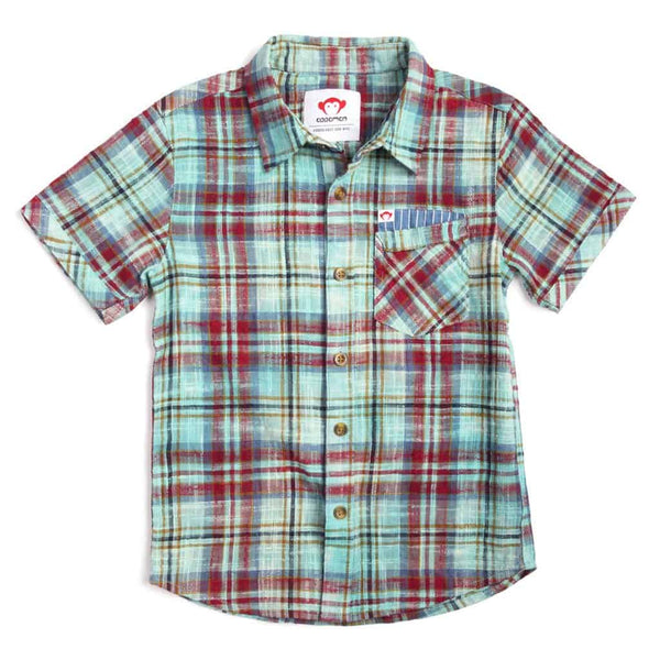 Mossman Shirt | Ocean Mist Plaid