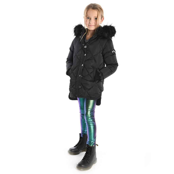 Sloan Puffer Coat | Black