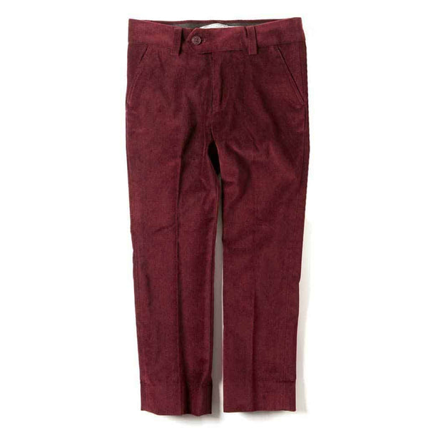 Suit Pants | Tibetan Red Velvet