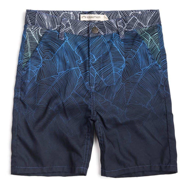 Hybrid Shorts | Ombre Palms