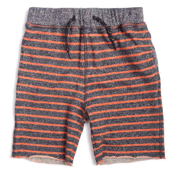 Camp Shorts | Tangerine Stripe