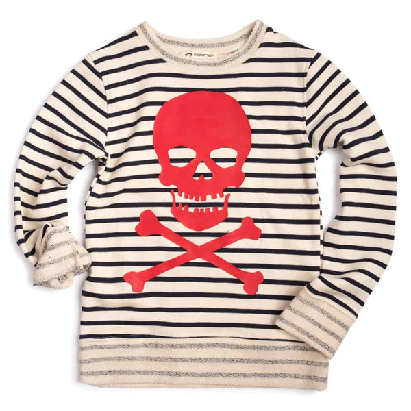 Striped Crewneck | Pirate Stripe