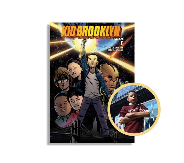 Kid Brooklyn (autographed copy) - Free with $75 purchase
